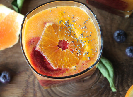 citrus immune boosting smoothie
