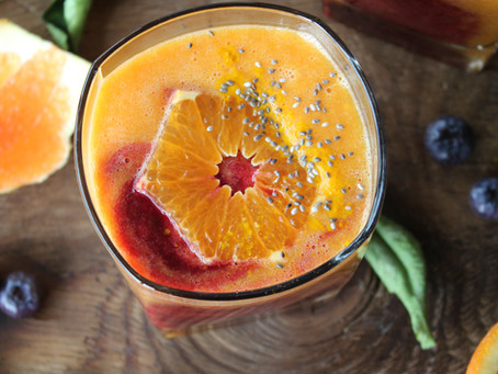 citrus immune boosting smoothie