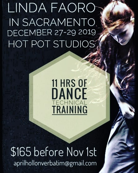 DANCE INTENSIVE HOT POT STUDIOS LIND FAO
