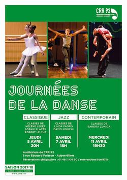 Les Journées de la Danse CRR 93