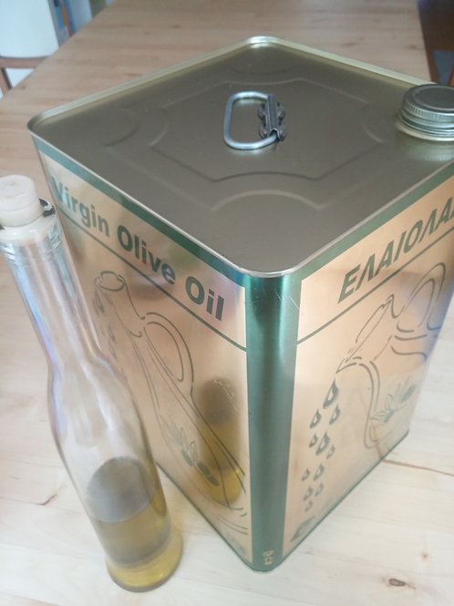 18 liter extra virgin olive oil container