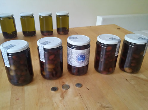 5 liters of olives, directly from farmer, from Kalamata, Greece