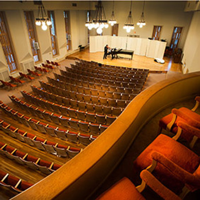 Solo Recital at Gorell Recital Hall, Indiana, PA