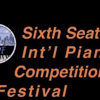 Seattle International Piano Competition Bach Festival (Juror)