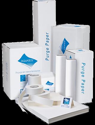 Purging Paper Aquasol  ورق حقن أرجون