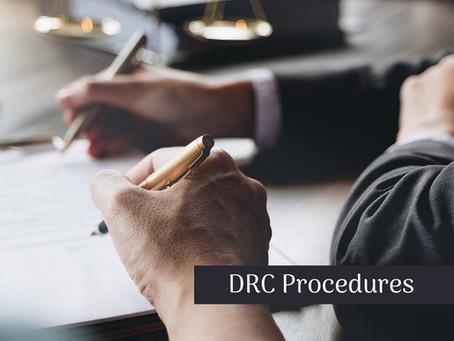 DRC / MIBCO PREPARATORY STEPS