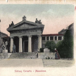 Rijeka – dvorac Trsat – Mauzolej / Fiume – Schloss Tersatto – Mausoleum