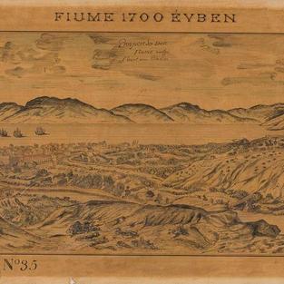 Rijeka - godine 1700.