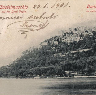 Castelmuschio auf der Insel Veglia / Omišalj na otoku Krku