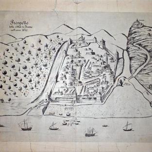 Prospetto della città di Fiume nell' anno 1670.