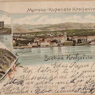 Morsko – Kupalište Kraljevica/Seebad Kraljevica (Portore) / Frankopanski grad Samostan jezuita / Jesuiten Kloster / Ruševina Hreljin