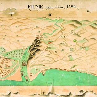 Fiume nell'anno 1580.