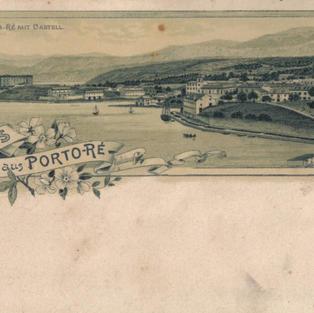 Pozdrav iz Kraljevice. Kraljevica s kaštelom Gruss aus Porto – Re Porto Re mit Castell