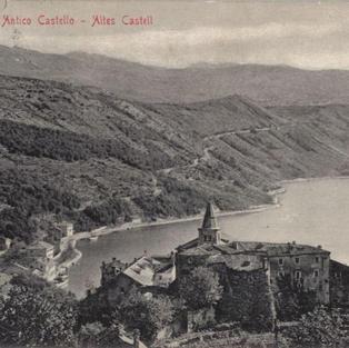 Bakar - stari kaštel Buccari - Antico Castello - Altes Castell
