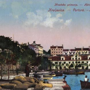 Hrvatsko primorje.Kraljevica. Hotel Zagreb / Adria Quarnero. Portore