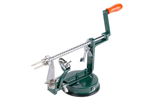 Apple Peeler / Slicer / Corer with Stainless Steel Blade and Suction Cup