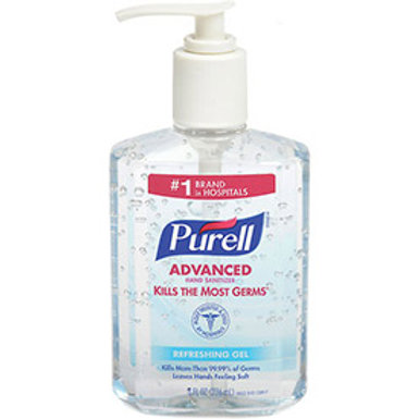 8 oz. Purell Hand Sanitizer