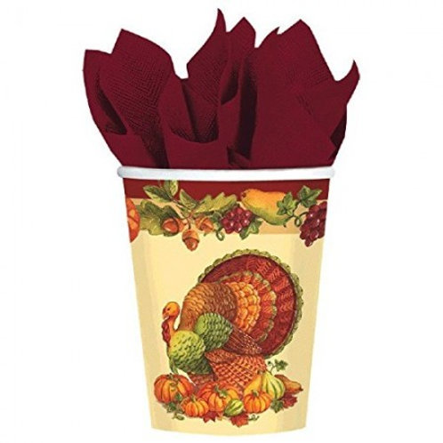 THANKSGIVING THEMED CUPS