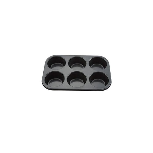 6 Cup Carbon Steel Non-Stick Jumbo Muffin Pan