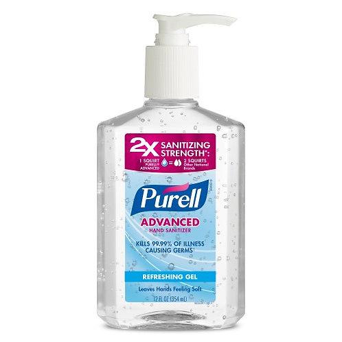 12 oz. Purell Hand Sanitizer