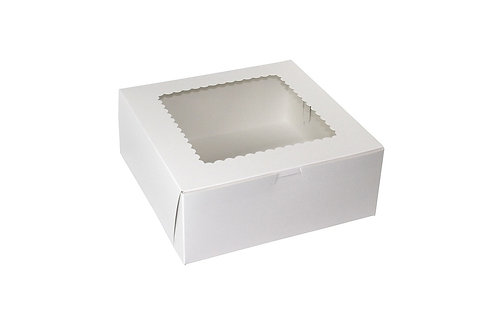 "10""x10""X2.5"" WINDOW PIE BOX"