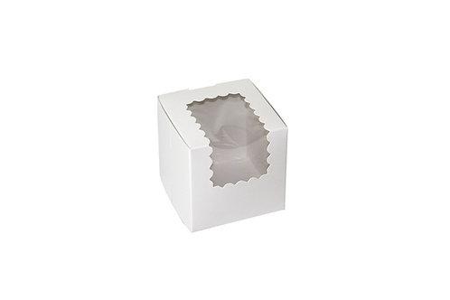 "4""x4""x4 Cupcake Box"