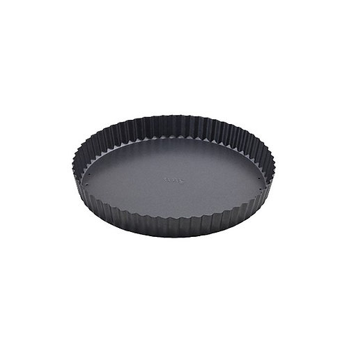 "8"" Tart Quiche Pan Non-Stick Carbon Steel with Removable Bottom"
