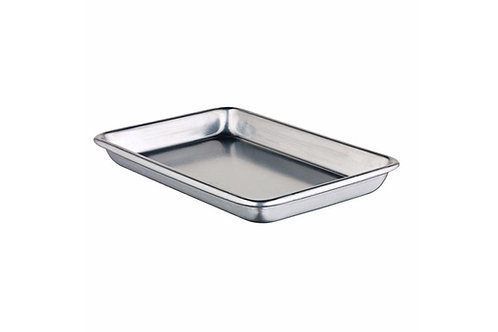 1/8 Size Heavy-Duty Open Bead Aluminum Sheet Pan