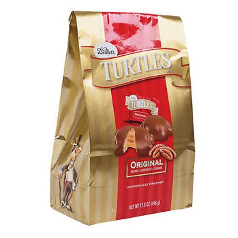 Demet's Chocolate Turtle Clusters