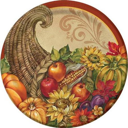 THANKSGIVING THEMED PLATES