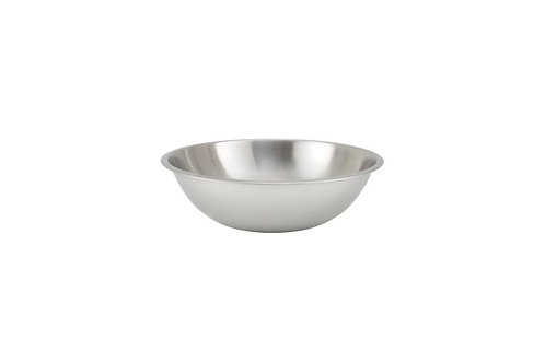 Standard Weight Stainless Steel Mixing Bowl