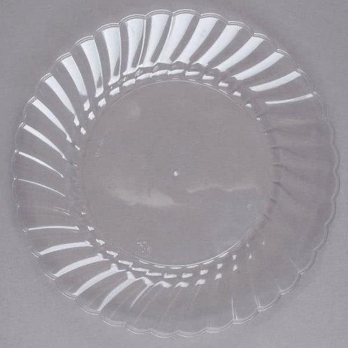 """6"""" Clear Classicware Plates"""