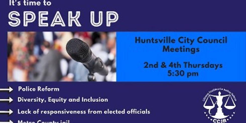 Huntsville City Council Meeting
