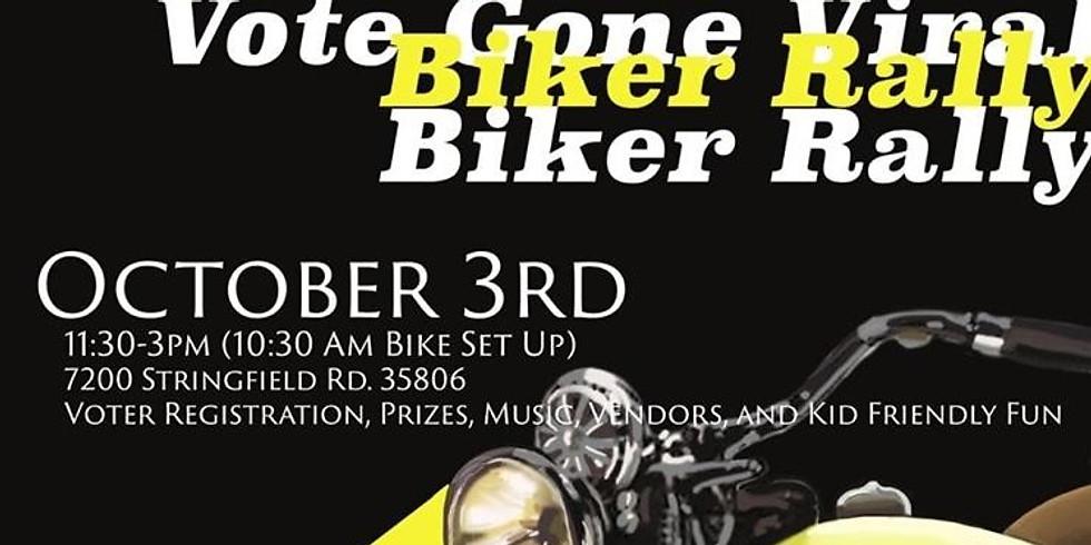 Vote Gone Viral Biker Rally
