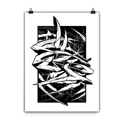 Print T Squared - (2 Sizes)