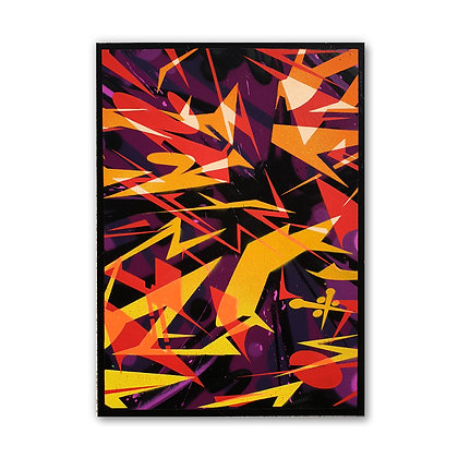 Flare Hot - Canvas