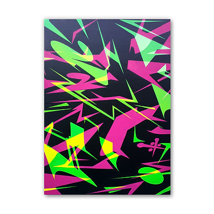 Neoned - Canvas - SOLD