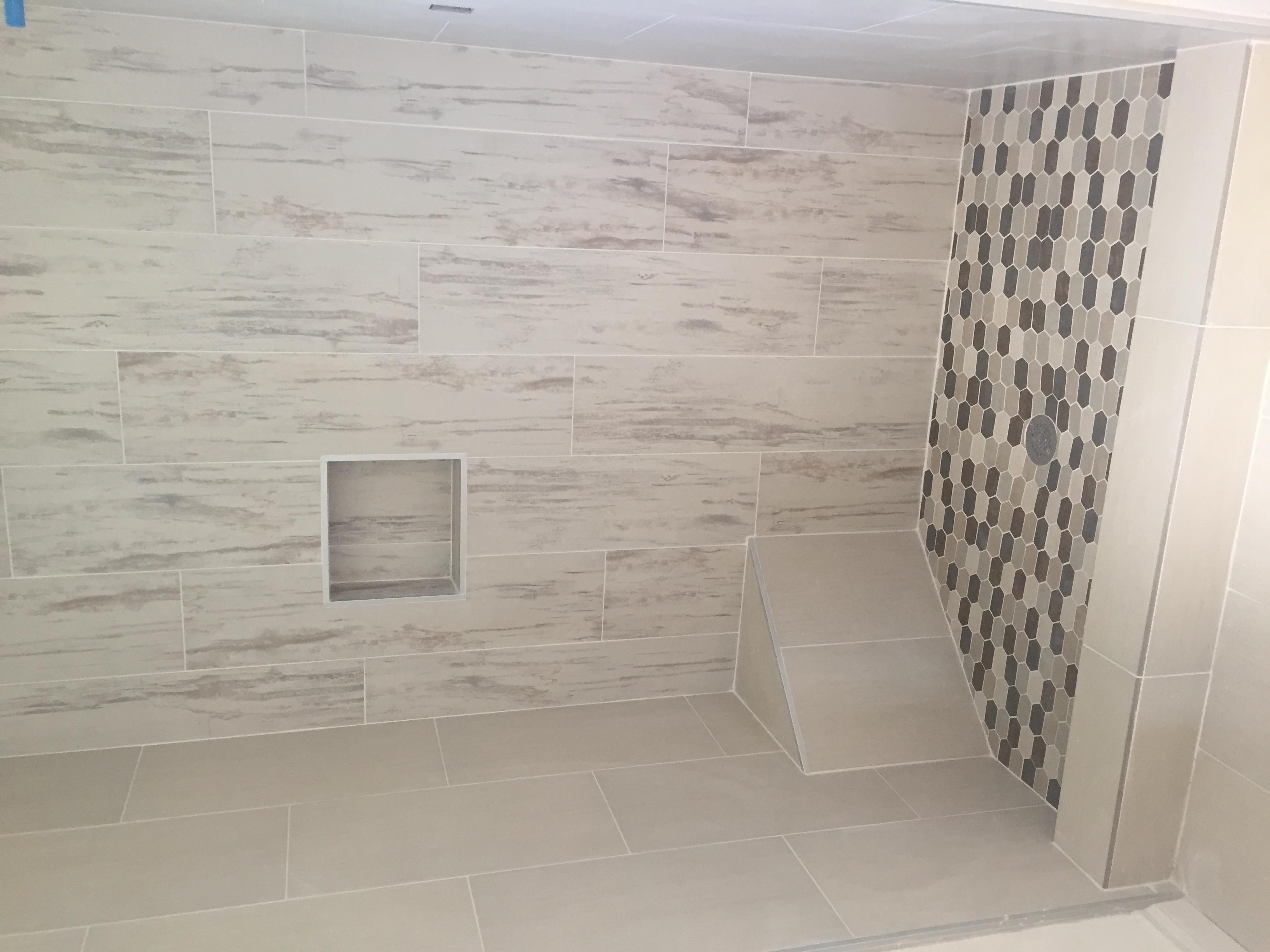 Shower Step and Shampoo Box