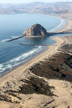 Morro Rock from Above