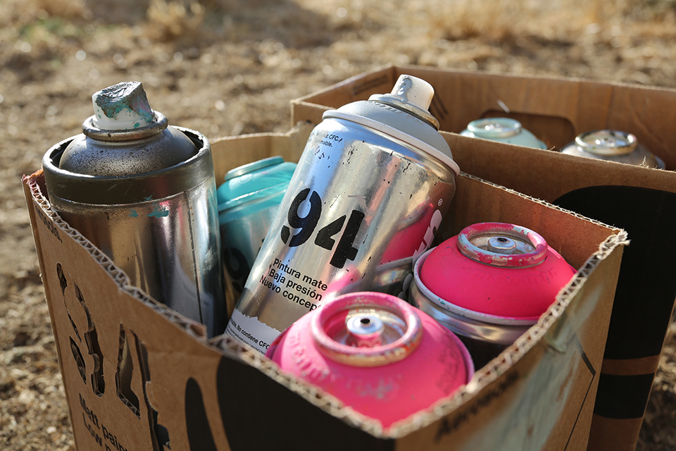 Spay Paint Cans