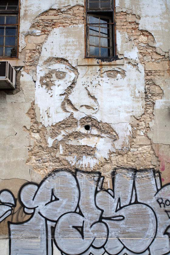 Artwor by Vhils