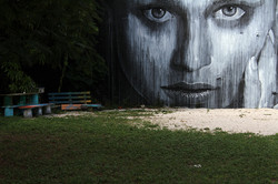 Artwork by Rone