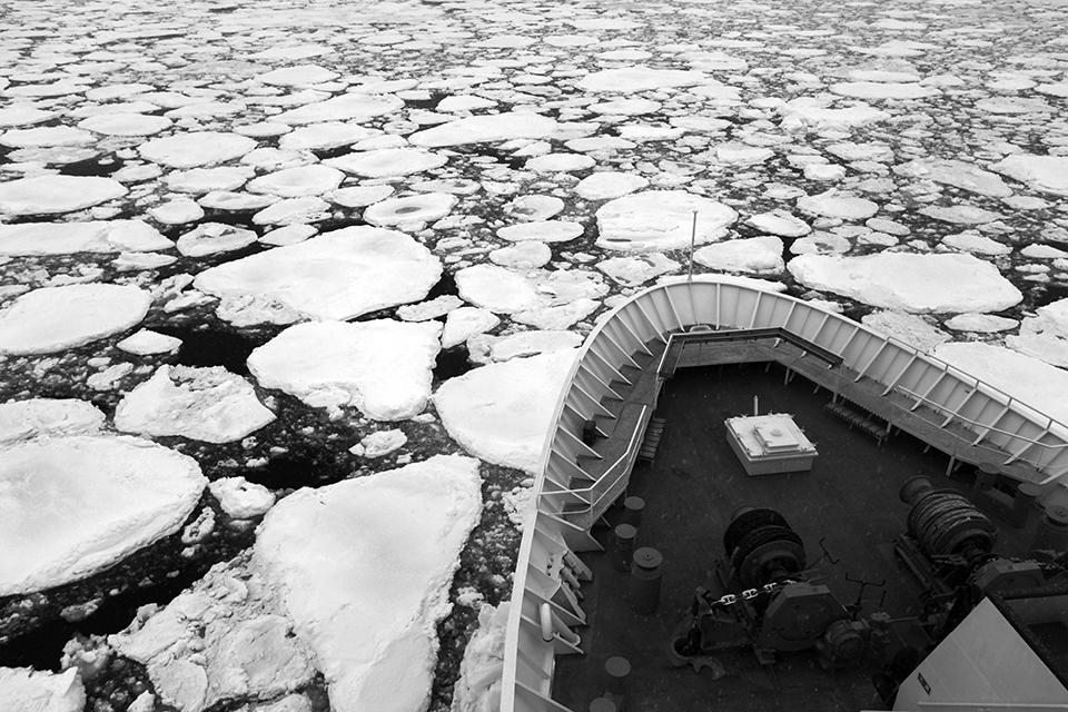 Ice Crusing