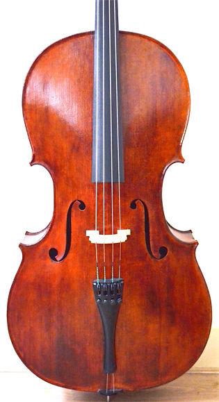 Cello Front Gore Booth 1710 Stradivarius