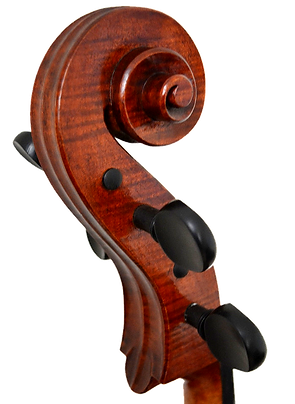 Cello Scroll copy Gore Booth 1710 Stradivarius