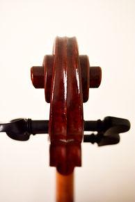 Back Scrool Cello stradivari Gore Booth 1710