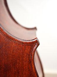 Corner back righ Cello Gore booth Stradivari 1710