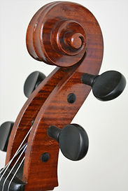 Cello Scrool Gore Booth copy 1710 Stradivarius