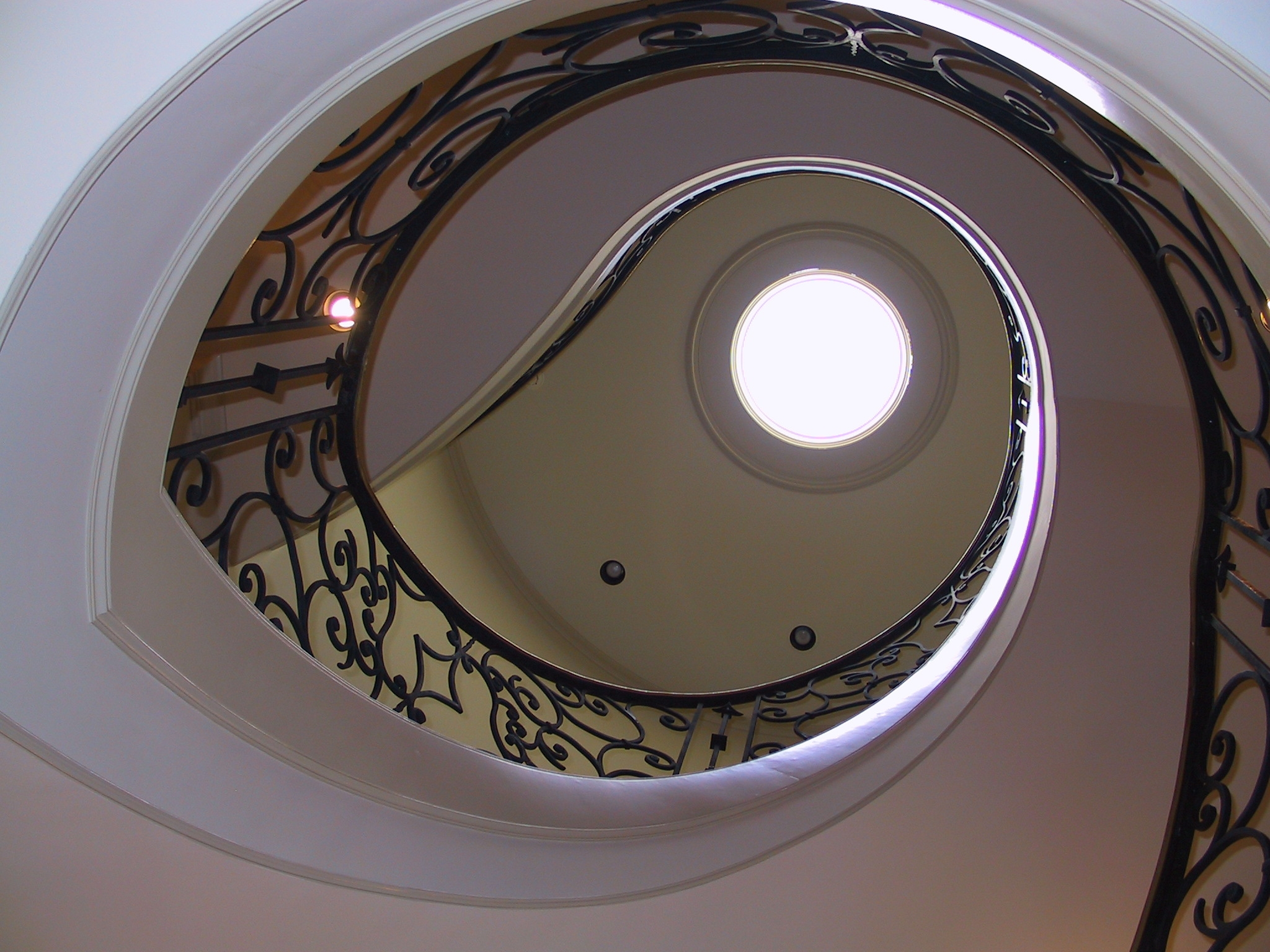 15 Spiral Staircase up