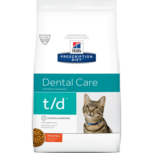 Hills Prescription T/D Feline 1.5kg